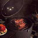 Broil King KEG: приготовление свиных ребер