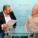 Дмитрий Goblin Пучков в студии АкадемТВ и Academ.info